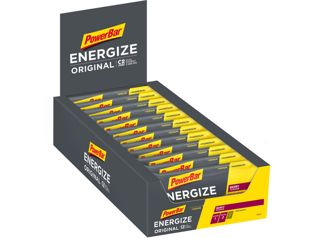 PowerBar Energize Original Bar Box 25x55g, Berry